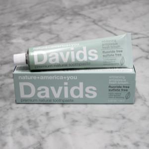davids natural toothpaste USA
